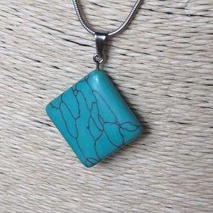 3 for $30 Turquoise Boho Chakra Necklace
